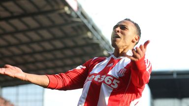 Peter Odemwingie: Feeling relaxed at Stoke following his January move from Cardiff