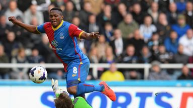 Kagisho Dikgacoi: Set to leave Crystal Palace