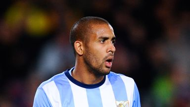 Fernando Tissone: Malaga midfielder suffered injury in training