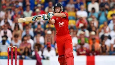 Jos Buttler: England wicketkeeper hit 67 after coming to the crease early in the second T20 international