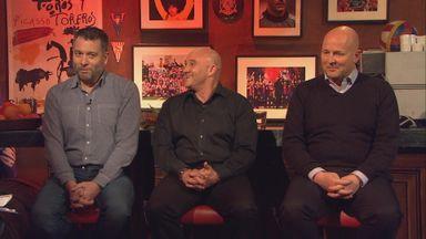 Guillem Balague, Terry Gibson, Graham Hunter on Monday