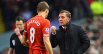 Brendan Rodgers: Hailed Steven Gerrard as best holding midfielder around