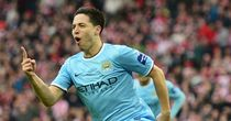 Samir Nasri: Looking to extend his current Manchester City deal