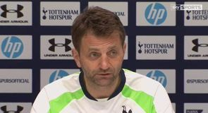 Sherwood: No pressure on Spurs