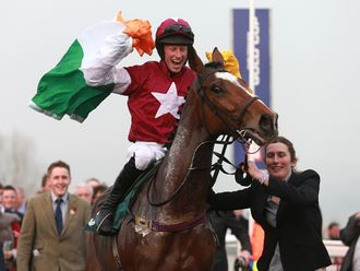Don Poli sealed the trainers' award for Willie Mullins