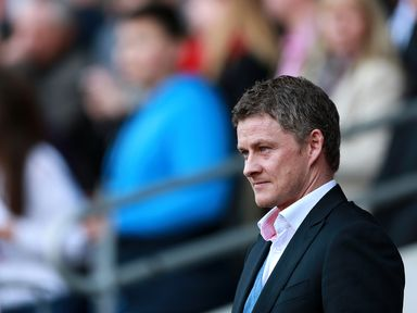 Ole Gunnar Solskjaer: Hopes to take Everton scalp