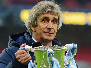 Pellegrini: Keen on a return to Wembley