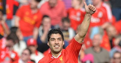 Luis Suarez: Equalled goals record for 38-game season
