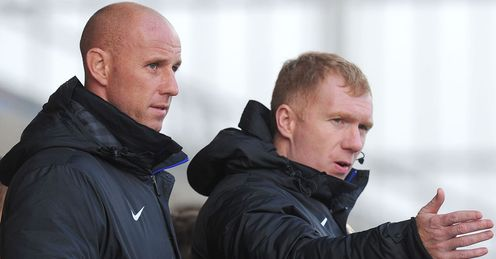 Paul Scholes: Back at United to assist Ryan Giggs