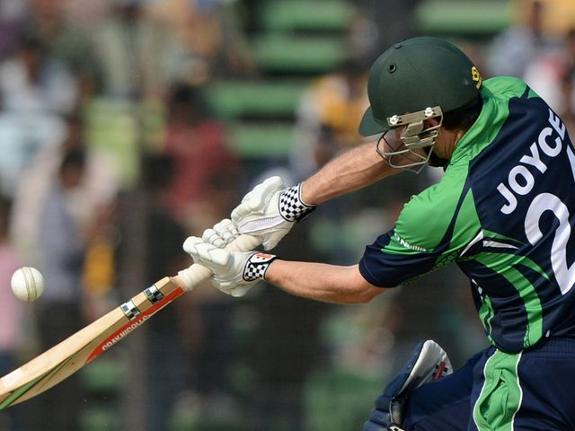 Ed Joyce made 43 in Ireland's victory