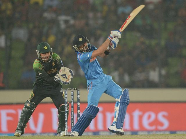Virat Kohli took India to victory