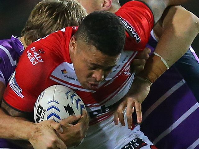 Jordan Turner: Scored a try for St Helens