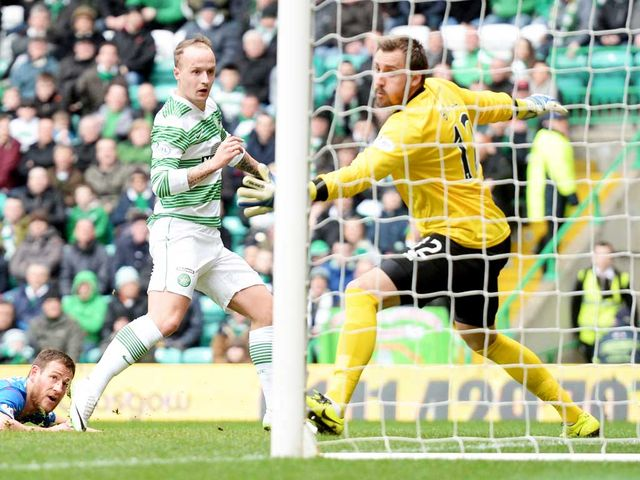 Griffiths opens the scoring against Inverness