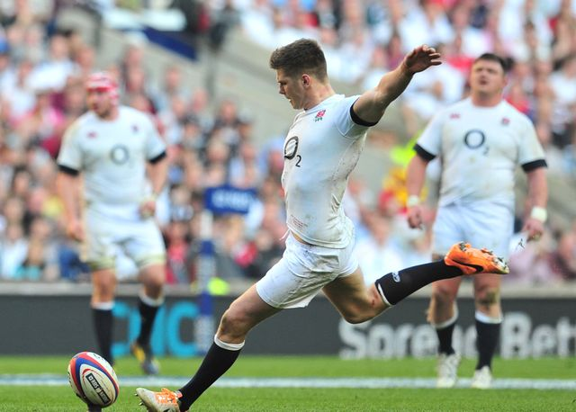 Owen Farrell kicked 19 points for England