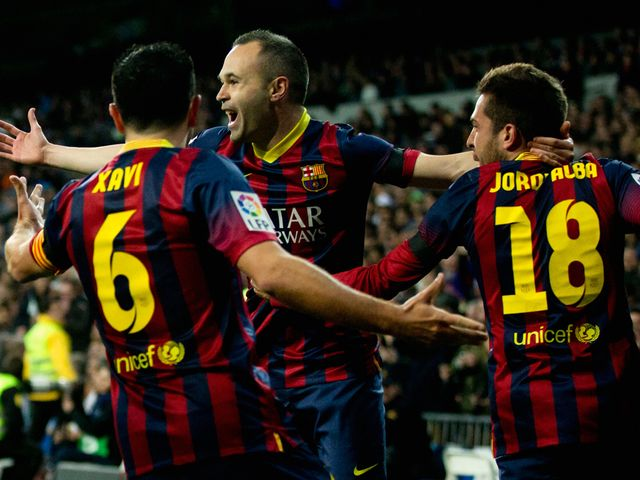 Iniesta: Sets his sights on the title