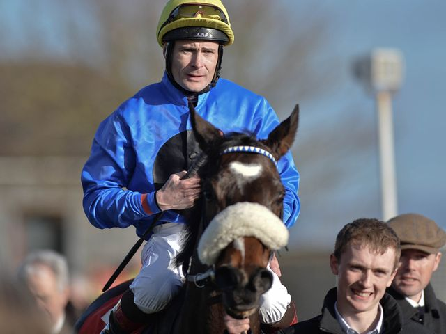 Pat Smullen enjoyed more Curragh success on Stuccodor