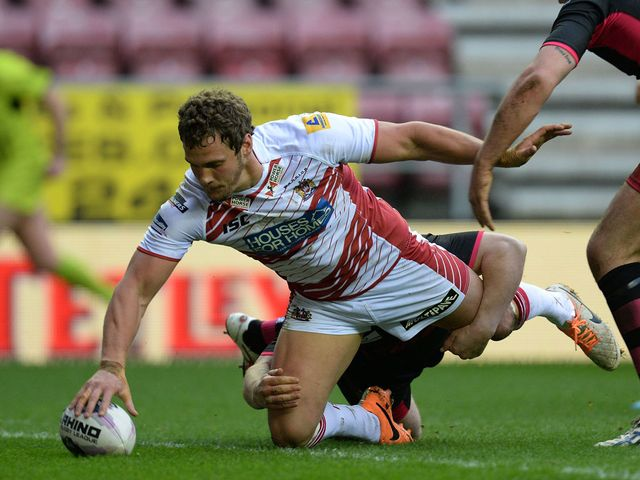 Sean O'Loughlin scored two tries for Wigan