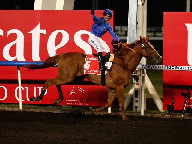 African Story wins the Dubai World Cup under Silvestre de Sousa