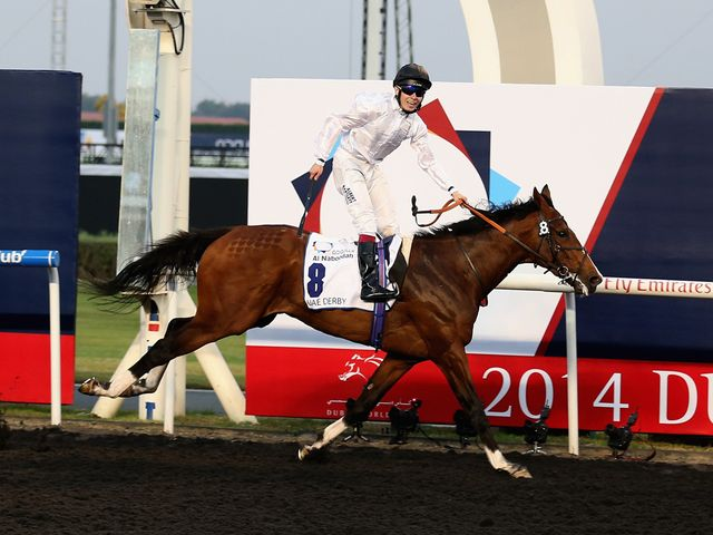 Toast Of New York slams the field in the UAE Derby