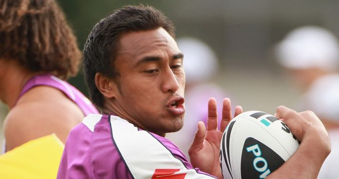 Atelea Vea: To make his London Broncos debut against Wakefield Wildcats