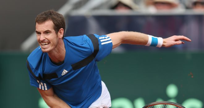 Andy Murray: Has dropped to eighth in the world