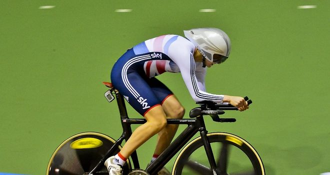 Joanna Rowsell won individual and team pursuit gold at the world championships