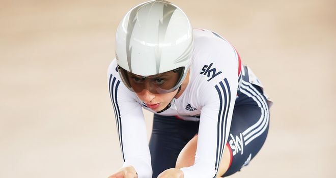 Laura Trott won silver for the second year in succession in the omnium