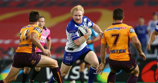 James Graham: Signs new four-year deal with Canterbury Bulldogs