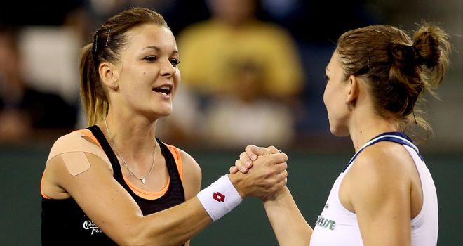 Agnieszka Radwanska: Reached her first final at Indian Wells after beating Simone Halep