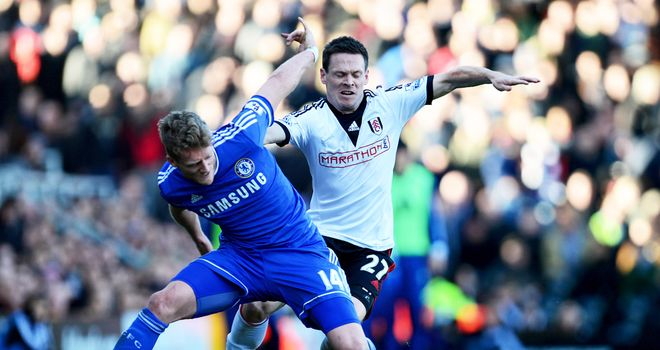 Sascha Riether: One goal in two seasons at Fulham