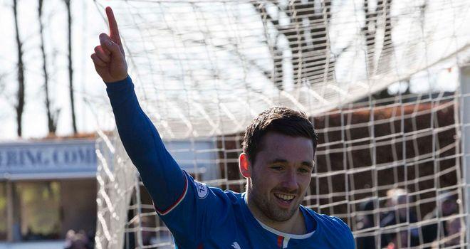 Nicky Clark: Delighted to grab Rangers' winner in pre-season friendly.