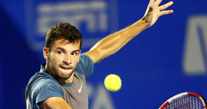 Grigor Dimitrov: World No 16 is bidding for his second title of the year