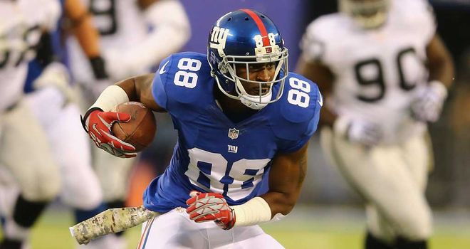 Hakeem Nicks: Held without a touchdown last season