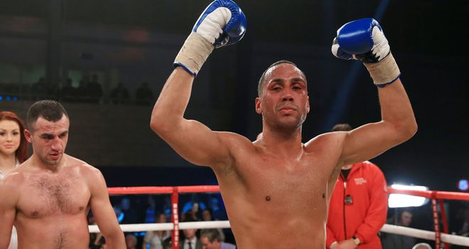 Janes DeGale: Tipped to become a world champion