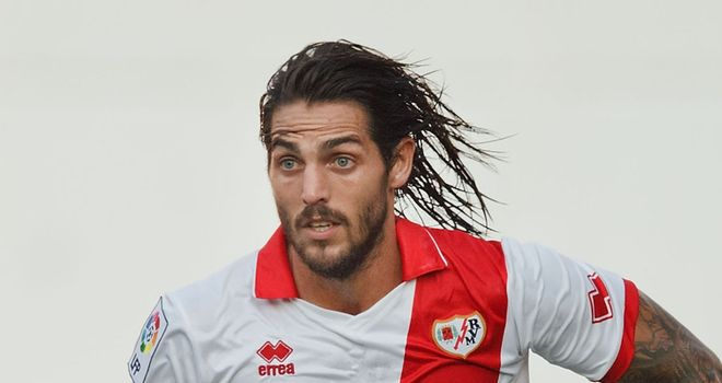 Joaquin Larrivey: On target for Rayo Vallecano in 3-2 win over Real Sociedad