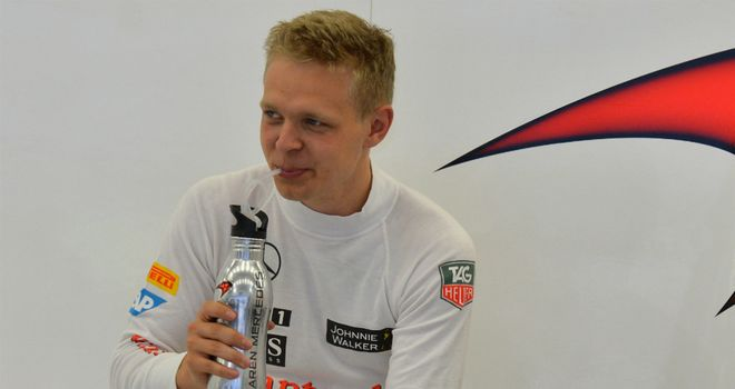 Kevin Magnussen: Getting pep talks from McLaren chief Eric Boullier