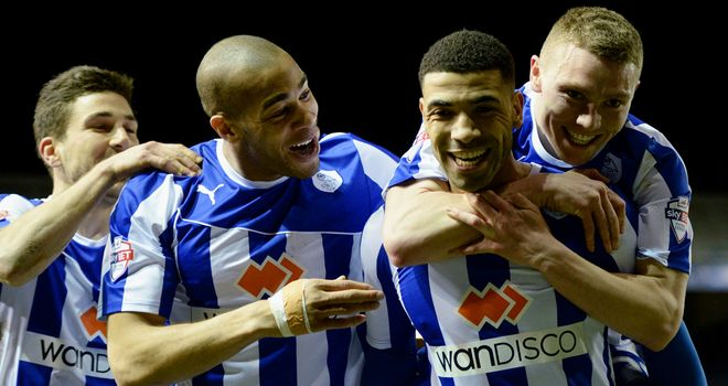Leon Best: Scored late goal for Sheffield Wednesday
