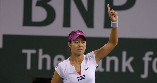 Li Na: Into round three without hitting a ball