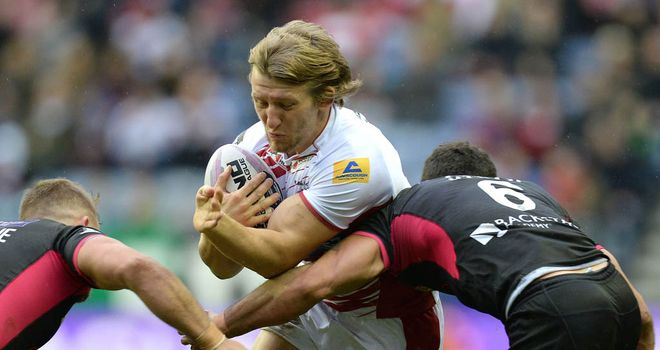 Logan Tomkins: Wigan Warriors hooker has made five appearances this season