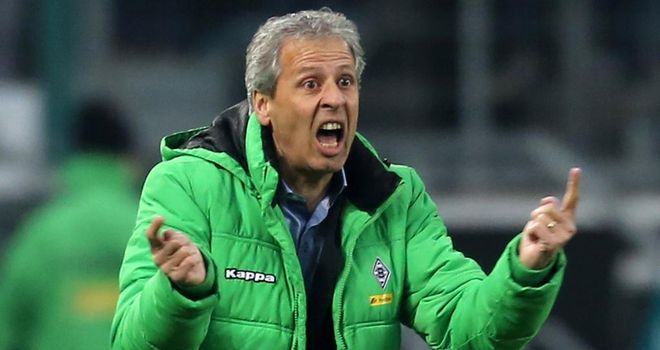 Lucien Favre: Struggling to attract players to Monchengladbach.