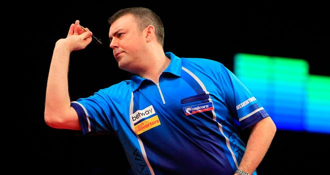 Wes Newton: Out of Exeter's Premier League Darts night