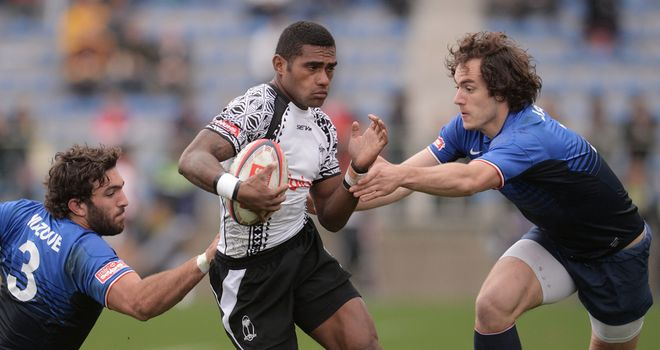 Nikola Matawalu: scored the only try of the game for Glasgow