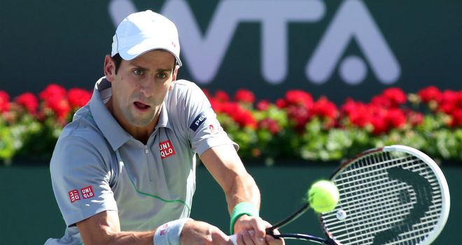 Novak Djokovic: Eased past Julien Benneteau to reach semi-finals at Indian Wells