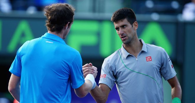Novak Djokovic: Ended Andy Murray's title defence in Miami