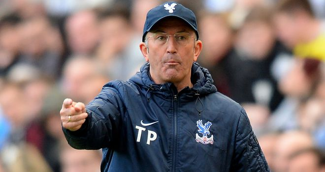Tony Pulis: Wants his Palace side to be more ruthless