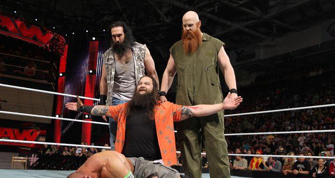 The Wyatt Family on SmackDown