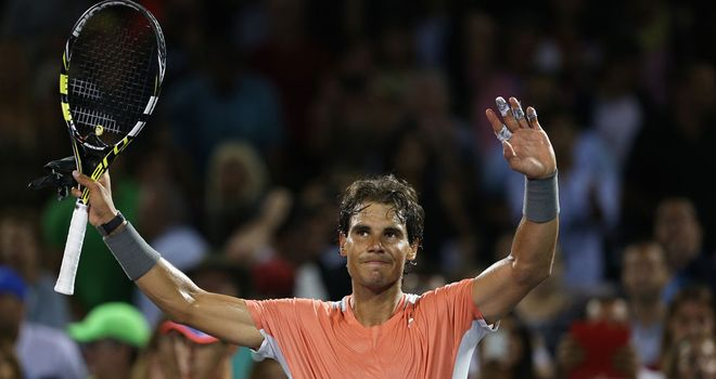 Rafa Nadal: Good form continues in Miami