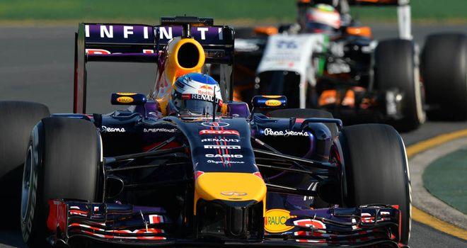 Red Bull spent plenty of time