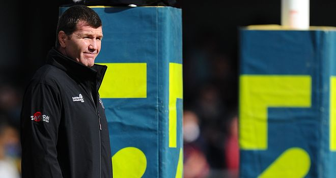 Rob Baxter: Exeter head coach is hoping to tap into the 'huge potential' of new signing Tomas Francis