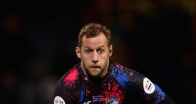 Rob Burrow: Looking forward to the World Cup